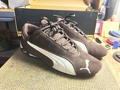 9cdb28a7cd75 PUMA SPEED CAT Shoes Men s Motorsport Driving Shoes brown Size 8 ...