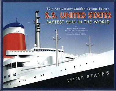 """""""S.S. UNITED STATES: Fastest Ship in the World"""" - NAUTIQUES sHiPs WORLDWIDE"""