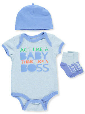 df9012947 WEEPLAY BABY BOYS' 3-Piece Layette Set - $11.49 | PicClick