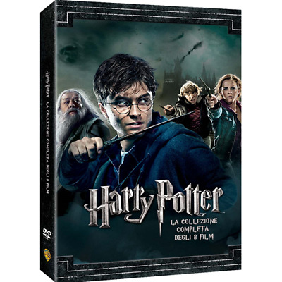 Harry Potter Collection (Standard Edition) (8 Dvd)  [Dvd Nuovo]