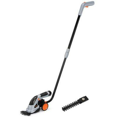 2 In 1 Grass And Hedge Trimmer Blade With Garden Cordless Handle
