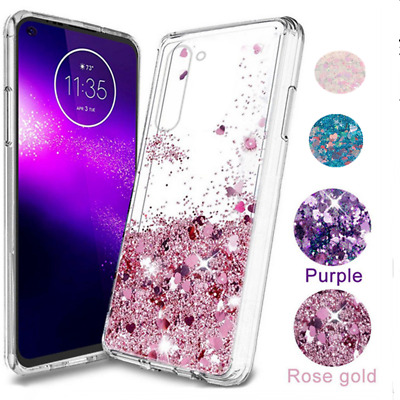 For Samsung Galaxy Note 9 S8 S9 Case Glitter Liquid Quicksand Clear Soft Cover