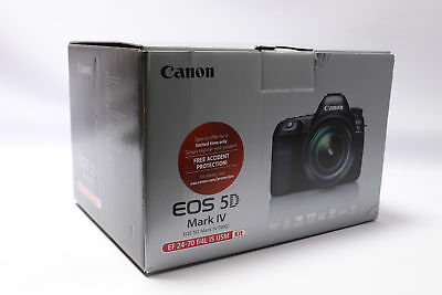 Brand New! Canon EOS 5D Mark IV DSLR Camera with EF 24-70mm f/4L IS USM