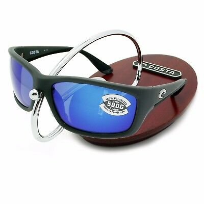 074e5258f07 COSTA DEL MAR matte gray blue mirror CORTEZ POLARIZED 580G ...