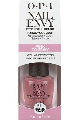 OPI Nail Envy Nail Strengthener and Colour PINK TO ENVY - 15ml BOXED
