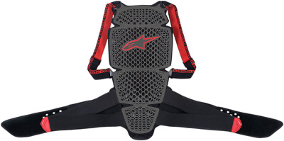 Alpinestars Nucleon KR-Cell Back Protector XL Black/Red 6504018-13-XL
