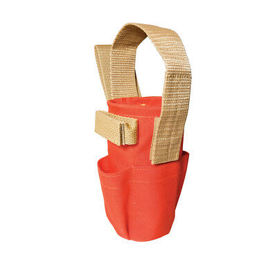 Spray Can Holder with Pockets For Construction Surveying Seco CST Topcon Sokkia