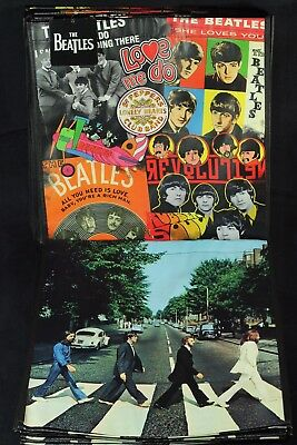 2 Vandor The Beatles  ABBEY ROAD & COLLAGE ECO Tote Reusable Shopping Bags