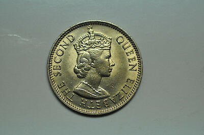 mw5921 British Honduras - Belize;  25 Cents 1965 KM#29   BU