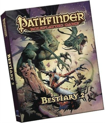 Paizo (Cor)-Pathfinder Roleplaying Game Bestiary 2  (US IMPORT)  BOOK NEW