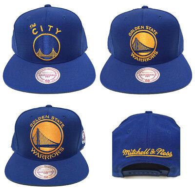 new concept 4f651 0f36c ebay mitchell and ness golden state warriors the city snapback hat cap  09d58 23734