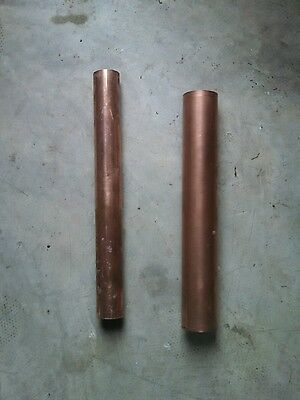 "2"" Heavy wall copper pipe - 11+ inches TYPE L HEAVY"