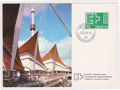 (K81-88) 1964 Sweden Post card exposition national (CO)