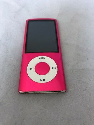 Apple iPod nano 5th Generation Pink (8 GB) Works 100% Bad Audio Jack