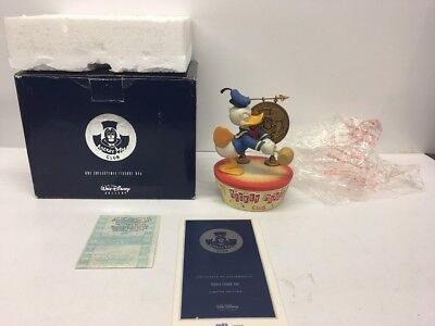 Disney Limited Edition Mickey Mouse Club Donald Figural Box