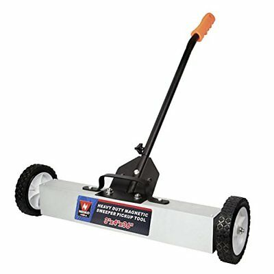 24 Amp Heavy Duty Magnetic Floor Sweeper Xl Wide Pick Up