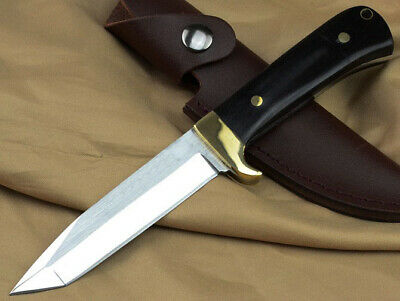 Sharp Full Tang Combat Survival Bowie Tactical Rescue Outdoor Camp Hunting Knife