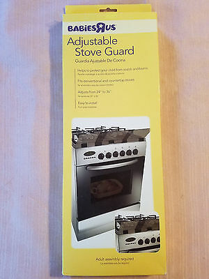 Babies R Us Baby Adjustable Stovetop Oven Stove Guard - 26027