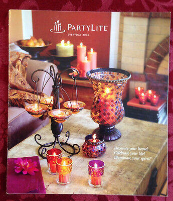PartyLite 2005 Winter / Spring Everyday Catalog Retired Book Consultant HTF