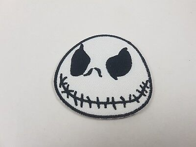 Quality Iron/Sew on Jack Skellington patch The Nightmare Before Christmas