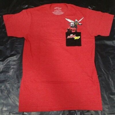 Marvel Ant-Man and the Wasp Pocket Mens Graphic T Shirt S M L XL 2XL