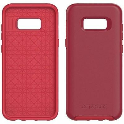 OtterBox Symmetry Hard Case Snap Cover For Samsung Galaxy S8+ Plus Flame Red 759