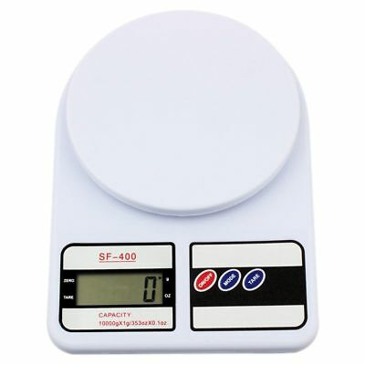 10 Kg Digital LCD Electronic Weighing Scales Postal Postage Parcel Kitchen AU