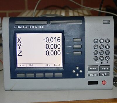 Metronics QC-100 QUADRA-CHEK 100 3-Axis Digital Readout Evaluation Electronics