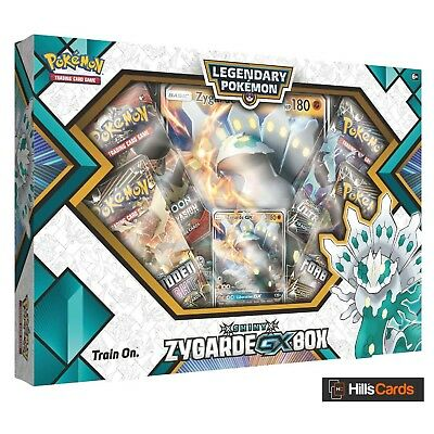Pokemon: Shiny Zygarde GX Collection Box: Inc 4 Booster Packs + Promo Cards
