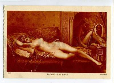 257253 SLAVE Opium HAREM by CLEMENT Vintage SALON #899 PC