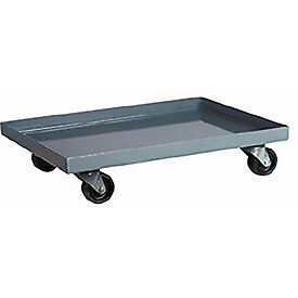 Akro-Mils Steel Dolly For Attached Lid Containers, Lot of 1