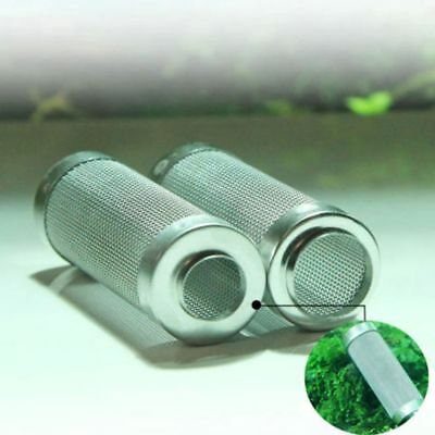 12/16mm Stainless Steel Mesh Pre-Filter Intake Guards For Aquariums Tanks FRUS