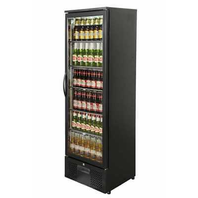 PRIMO 300 | Upright Back Bar Bottle Cooler | Beer Fridge | Single Glass Door