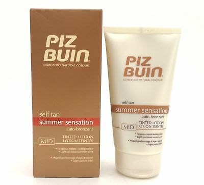 Piz Buin Self Tan Latte Autoabbronzante Mid - 150 Ml
