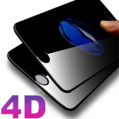 4D Full Cover Tempered Glass Screen Protector For iPhone X 8 7 6s/6 Plus