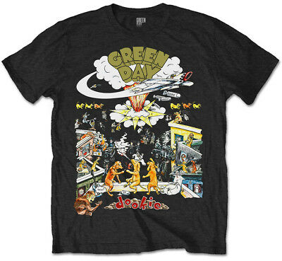 Green Day 'Dookie 1994 Tour' T-Shirt - NEW & OFFICIAL!