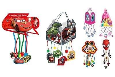 Disney Procos Pull String Party Pinata Choose Required Design
