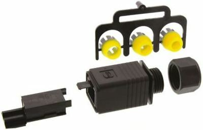 Han Push Pull Series 3 Way Male 16A Connector Kit, includes Housing, Insulation