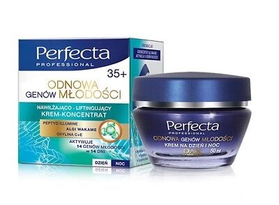 Perfecta Face Cream Day/Night Moisturising & Lifting concentrate Age +35