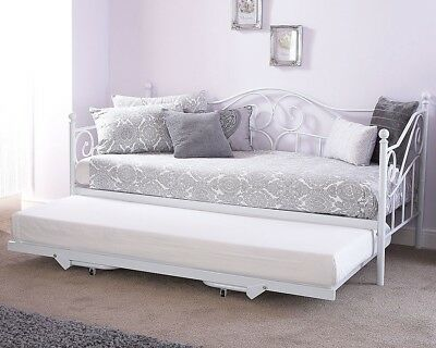 Gfw Madison Day Bed - Trundle Available - Fabulous White Colour - Elegant