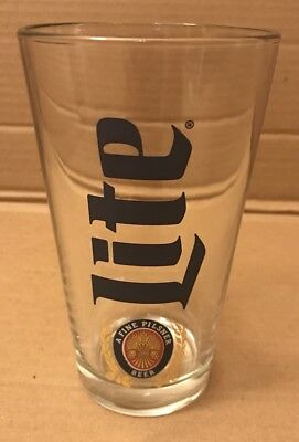 Miller Lite Pint Glass
