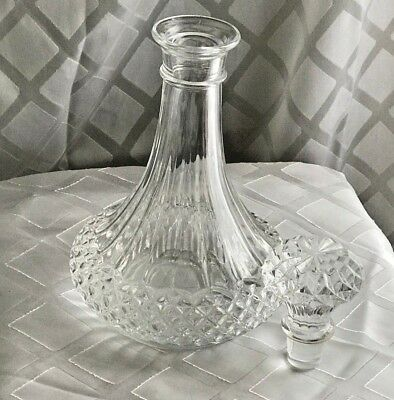 LONGCHAMP CryIstal D'Arques Wine decanter with stopper