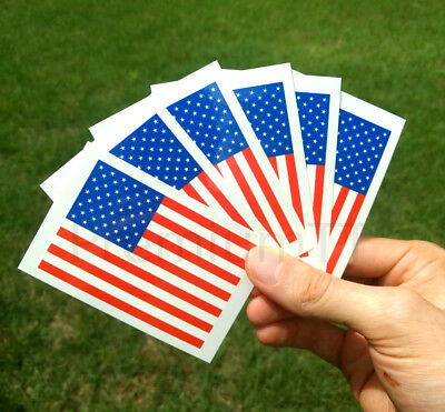 8 Large United States of America Flag Tattoos: American US Party Favors