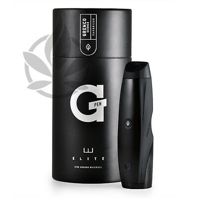 GENUINE Grenco G-Pen Elite Portable Vaporizer Vaporiser Vape **UK SELLER**