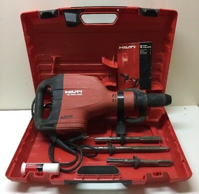 Hilti TE 706-AVR Demolition Hammer, Case And Extras!