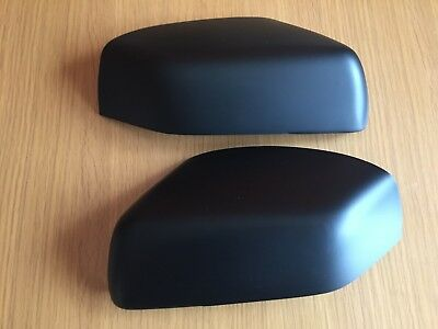Matt Black Wing Mirror Covers Range Rover Vogue L322 Discovery 3 Freelander 2