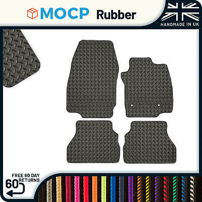 Custom Rubber Car Mats to fit Ford B-Max 2 Clips 2012-2015
