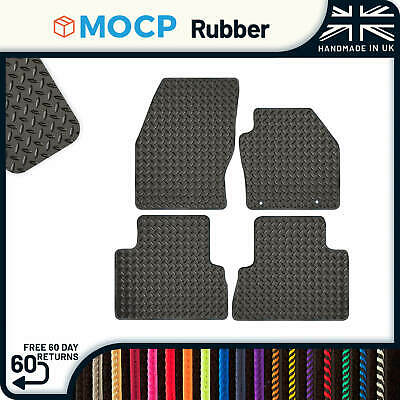 Custom Rubber Car Mats to fit Ford C-Max Oval Clips 2011-2013