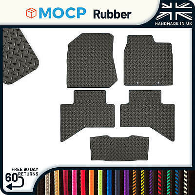Custom Rubber Van Mats to fit Isuzu D-Max Double Cab 2012-present