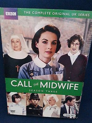 Call the Midwife DVD Season 3- Complete Original UK Series- London- 1950's!